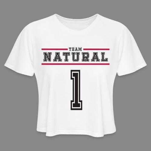 Team Natural 1 - Women's Cropped T-Shirt