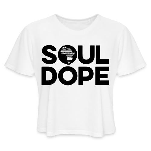 souldope Black Logo - Women's Cropped T-Shirt