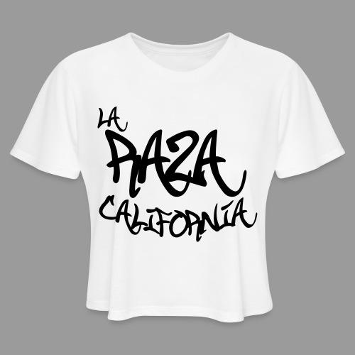 La Raza California - Women's Cropped T-Shirt