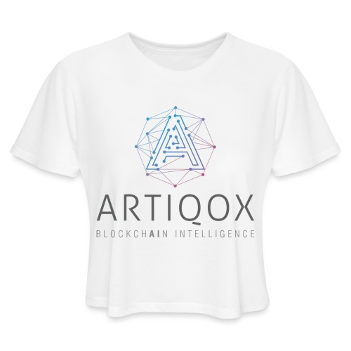 ARTIQOX LOGO - Women's Cropped T-Shirt