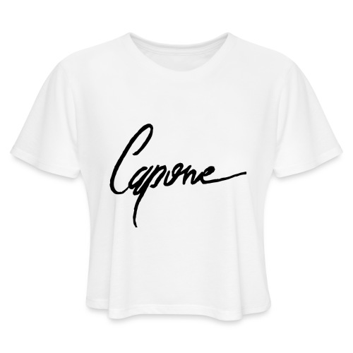 Capone - Women's Cropped T-Shirt