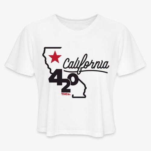 California 420 - Women's Cropped T-Shirt