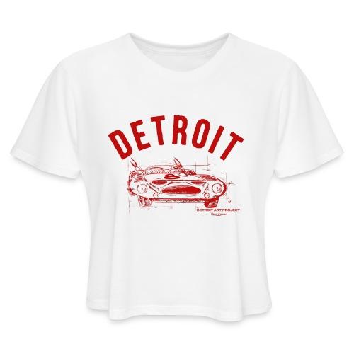 Detroit Art Project - Women's Cropped T-Shirt