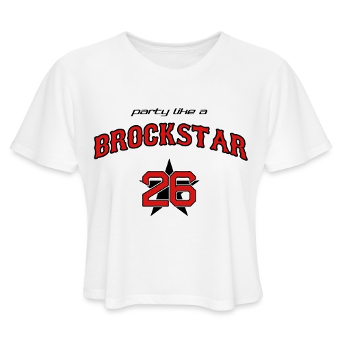 Brockstar T-Shirts - Women's Cropped T-Shirt