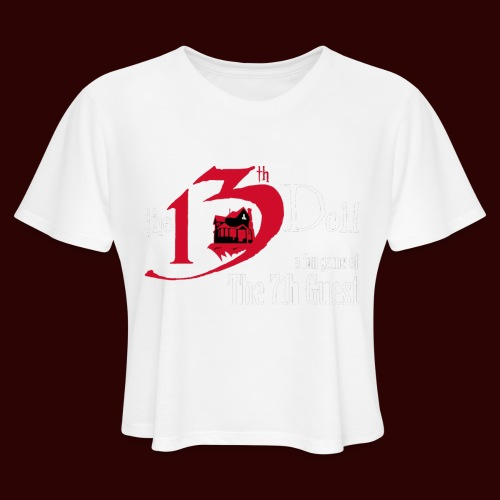The 13th Doll Logo - Women's Cropped T-Shirt