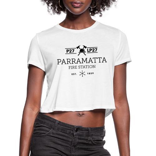Parramatta Fire Station B - Women's Cropped T-Shirt