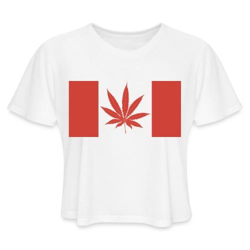 Canada 420 - Women's Cropped T-Shirt