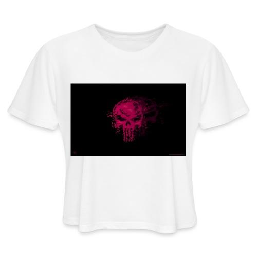 hkar.punisher - Women's Cropped T-Shirt