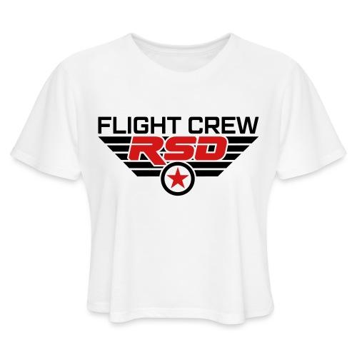 RSD Flight Crew - Women's Cropped T-Shirt