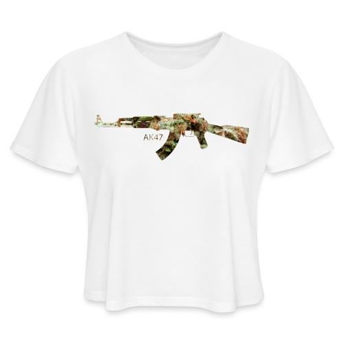 AK-47.png - Women's Cropped T-Shirt