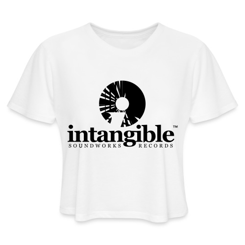 Intangible Soundworks - Women's Cropped T-Shirt