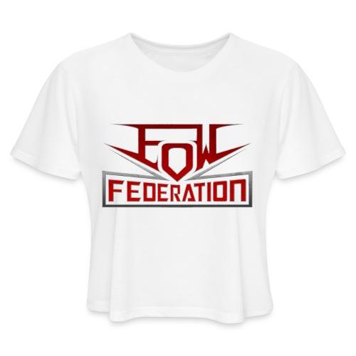 EoWFederation - Women's Cropped T-Shirt