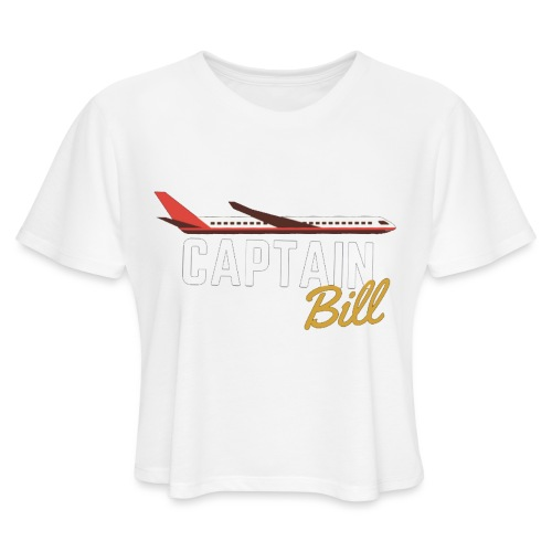 Captain Bill Avaition products - Women's Cropped T-Shirt