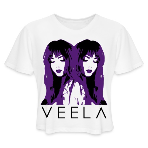 Double Veela Light Women's - Women's Cropped T-Shirt