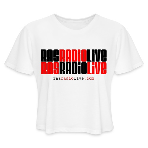 rasradiolive png - Women's Cropped T-Shirt