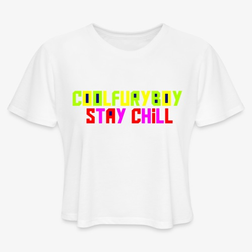 CoolFuryBoy - Women's Cropped T-Shirt