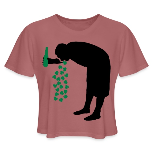 drunkpatron - Women's Cropped T-Shirt