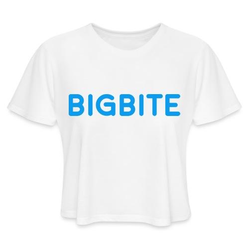 Toddler BIGBITE Logo Tee - Women's Cropped T-Shirt