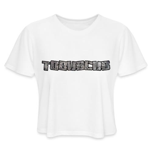 Tobuscus Logo Women's T-Shirts - Women's Cropped T-Shirt