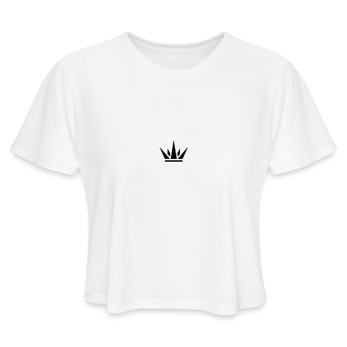 DUKE's CROWN - Women's Cropped T-Shirt