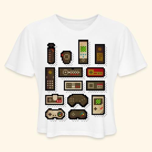 pixelcontrol - Women's Cropped T-Shirt
