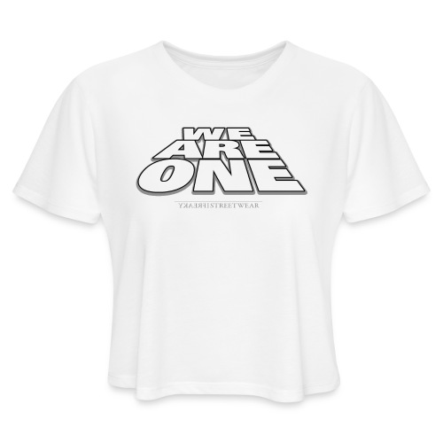 We are One 2 - Women's Cropped T-Shirt