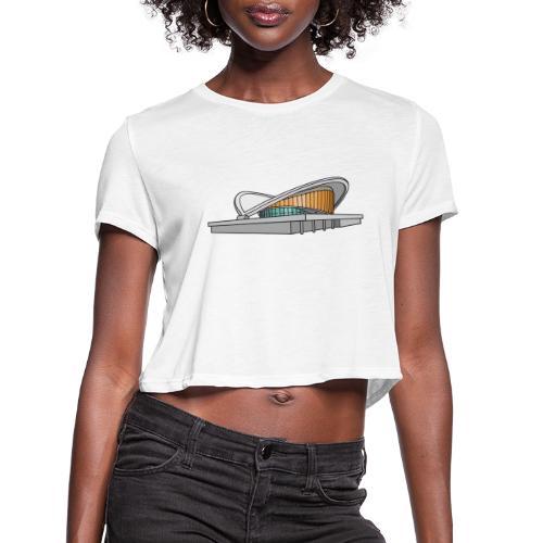 Congress Hall BERLIN - Women's Cropped T-Shirt