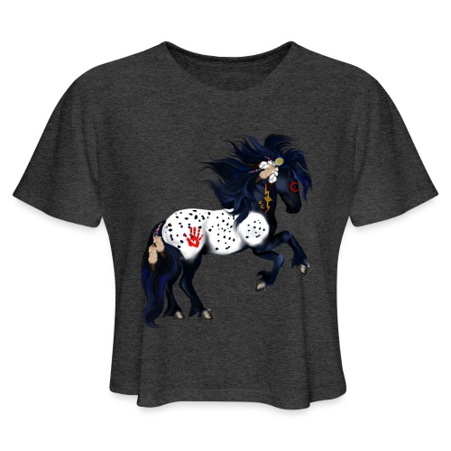 Appaloosa War Pony - Women's Cropped T-Shirt