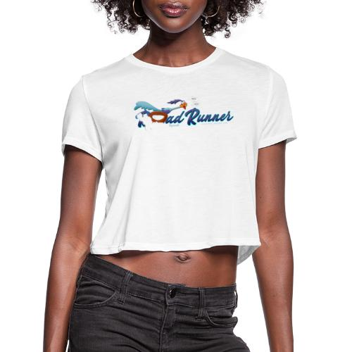 Plymouth Road Runner - Legends Never Die - Women's Cropped T-Shirt
