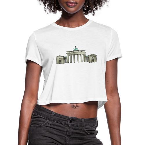 Brandenburg Gate Berlin - Women's Cropped T-Shirt