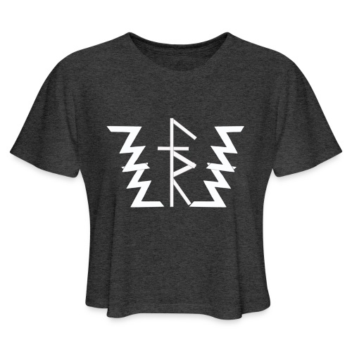 Faith Runnerz Tee Logo - Women's Cropped T-Shirt