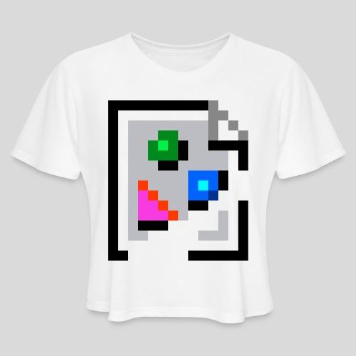 Broken Graphic / Missing image icon Mug - Women's Cropped T-Shirt