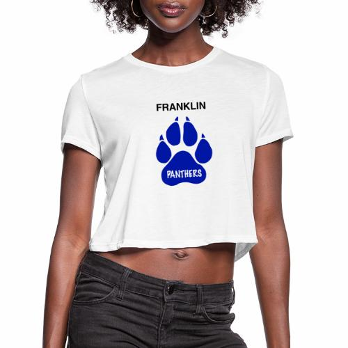 Franklin Panthers - Women's Cropped T-Shirt