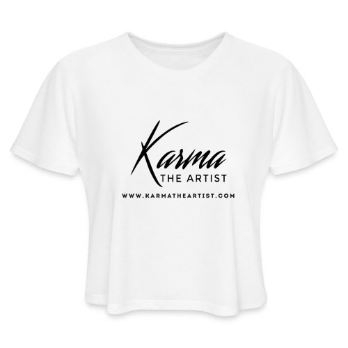 Karma - Women's Cropped T-Shirt