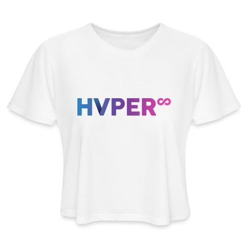 HVPER - Women's Cropped T-Shirt