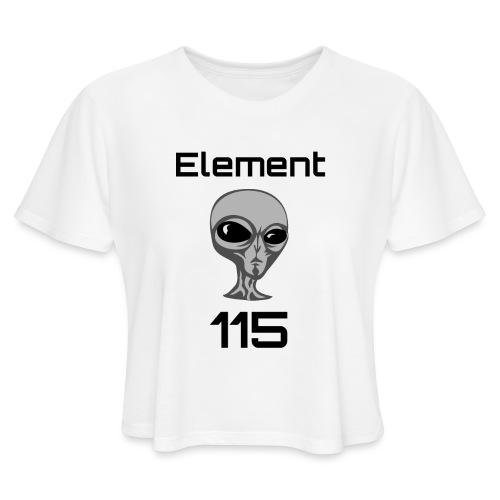 Element 115 - Women's Cropped T-Shirt