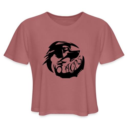 wolf - Women's Cropped T-Shirt