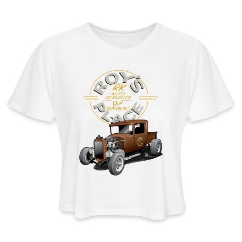 RoysRodDesign052319_4000 - Women's Cropped T-Shirt