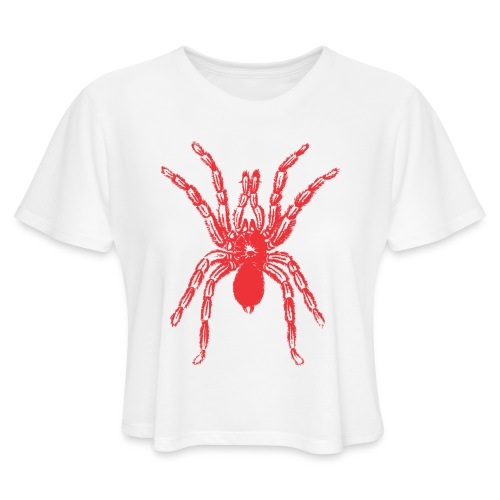 Spider - Women's Cropped T-Shirt