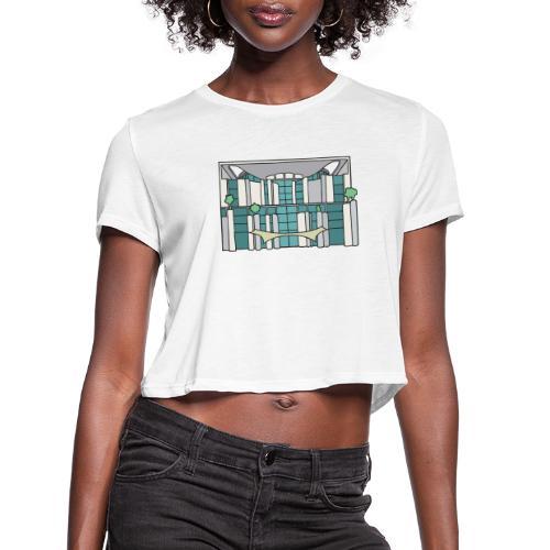 Chancellery Berlin - Women's Cropped T-Shirt