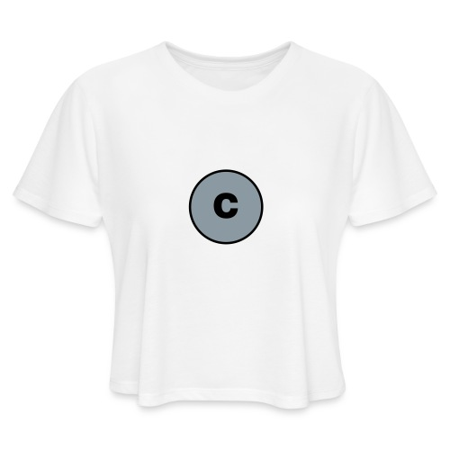 Carbon Chauvinist Electron - Women's Cropped T-Shirt