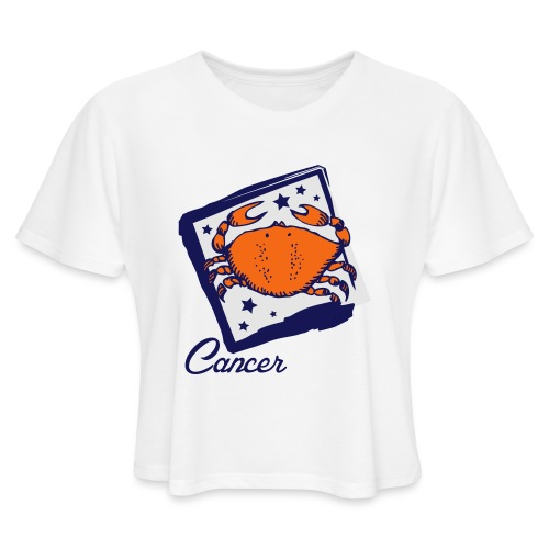 Cancer - Women's Cropped T-Shirt