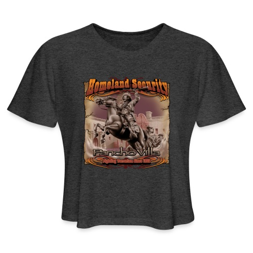 Homeland Security by RollinLow - Women's Cropped T-Shirt