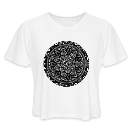 Circle No.2 - Women's Cropped T-Shirt