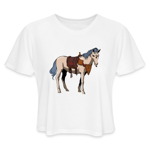 Useless the Horse png - Women's Cropped T-Shirt