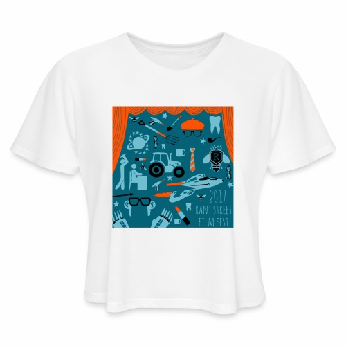Rant Street Swag - Women's Cropped T-Shirt