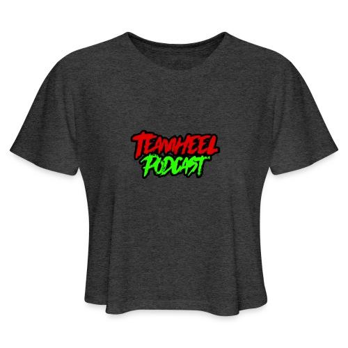 TEAMHEEL Podcast RedNGreen - Women's Cropped T-Shirt