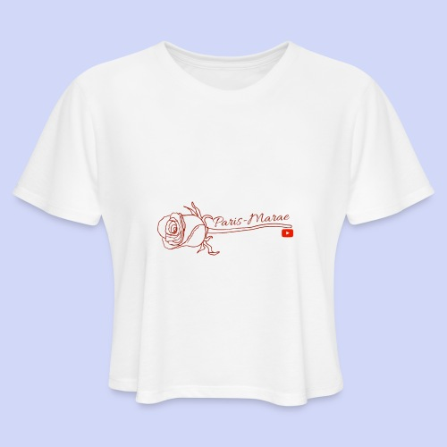 Roses - Women's Cropped T-Shirt