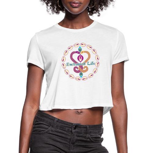Enchanted Life Logo Gear - Women's Cropped T-Shirt