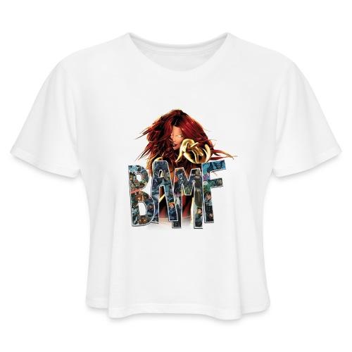 phoenix png - Women's Cropped T-Shirt